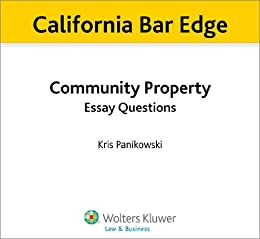 property essay questions This publication contains the six essay questions from july 2004  robbery is the  taking and carrying away of the personal property of another.