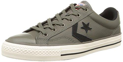 Converse Sp Mixte Gris Baskets noir Marron Basses Fundam Leath Adulte gris rrZq1xwp4n