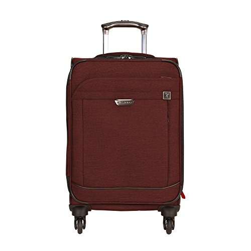 Ricardo Beverly Hills Malibu Bay 20-inch Carry-on Spinner Upright Suitcase, Indigo Blue
