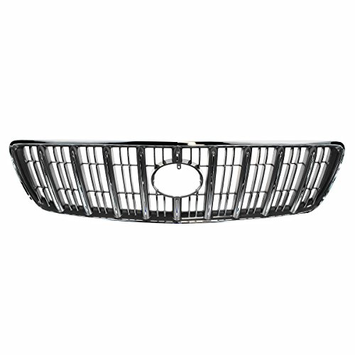 Grille Grill Assembly Chrome 9 Bar Front For 99-03 Lexus RX300 (Lexus Chrome Grill)