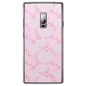 Loud Universe OnePlus 2 Love Valentine Printing Files Valentine 168 Printed Transparent Edge Case - Pink