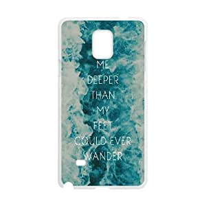 Bible verse Custom Cover Case for Samsung Galaxy Note4 by Nickcase