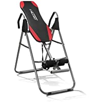 GENKI Heavy Duty Folding Inversion Table with Padded Backrest, 3 Position Adjustable Inversion Machine