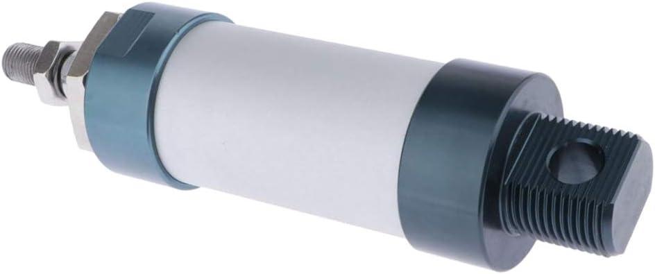 perfk Fin V/érin Pneumatique Al/ésage : 32mm Course : 50-300mm avec Connecteur MAL 32x50mm Cylindre Pneumatique