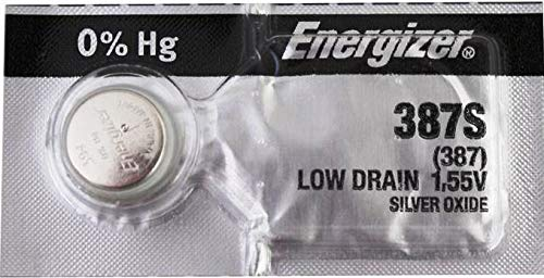 387S Energizer - 1 Battery Official OEM USA.
