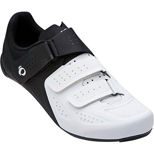 嫌悪リビジョン終わった(パールイズミ) Pearl Izumi Select Road V5 Cycling Shoe メンズ ロードバイクシューズWhite/Black [並行輸入品]