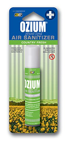 Ozium Glycol-Ized Professional Air Sanitizer / Freshener Country Fresh Scent, 0.8 oz. aerosol (OZ-15)