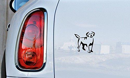 Costume Design Outline (Dog Retriever Outline Version 3 Car Vinyl Sticker Decal Bumper Sticker for Auto Cars Trucks Windshield Custom Walls Windows Ipad Macbook Laptop Home and More (BLACK))