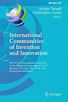 International Communities of Invention and Innovation Front Cover