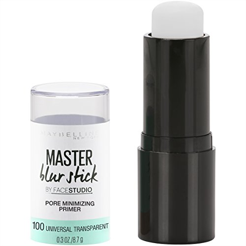 Maybelline New York Facestudio Master Blur Stick Primer Makeup, Universal Transparent, 0.3 oz.