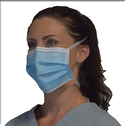 Tie-on Protect U Blue Of Guard 50 2 Boxes - Masks Mask