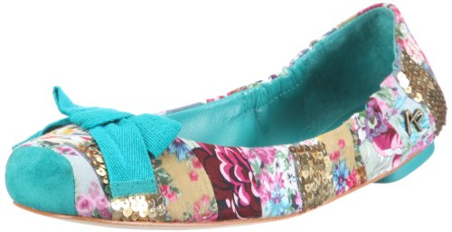 Apepazza CINDY MULTI PATCH 502557 51627, Ballerines femme Bleu (Turquoise-tr-c3-19)