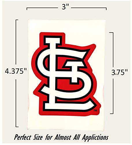 St Louis Cardinals vinyl sticker for skateboard luggage laptop tumblers car b