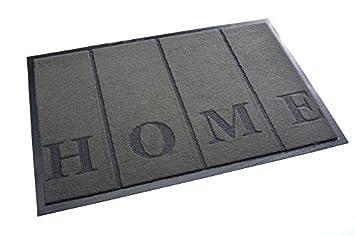 Cool Amazon.de: Premium Fußmatte Schmutzfangmatte HOME grau 40x60cm  IE25