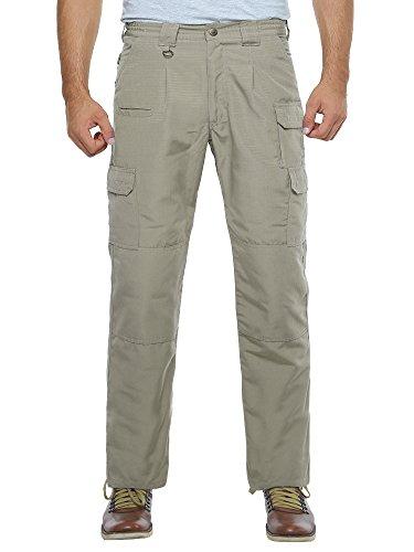 Men's Lightweight Rip Stop EDC Tactical BDU Combat Pants Khaki - Khaki Cotton Ripstop Pants Bdu