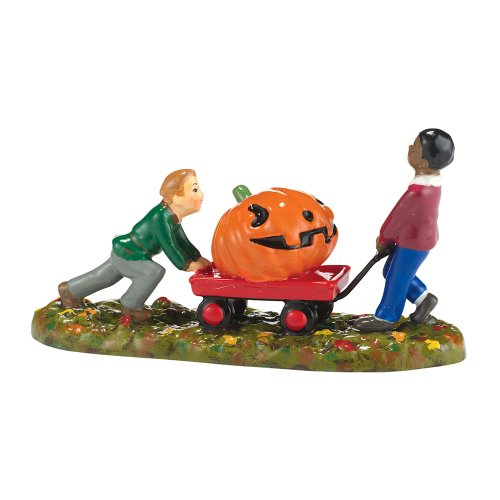Department 56 Bringing Home The Winner Figurine (Winner Halloween)