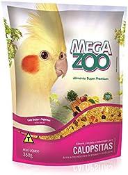 Ração Megazoo Calopsitas Frutas e Legumes - 350g
