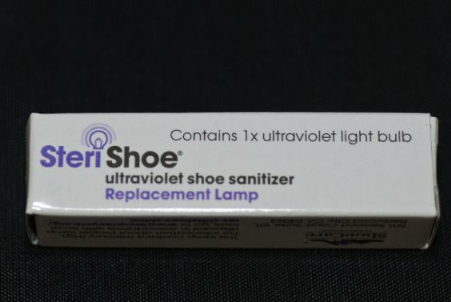 Replacement Lamp for The Original SteriShoe® Ultraviolet Shoe Sanitizer (not The SteriShoe+) from SteriShoe