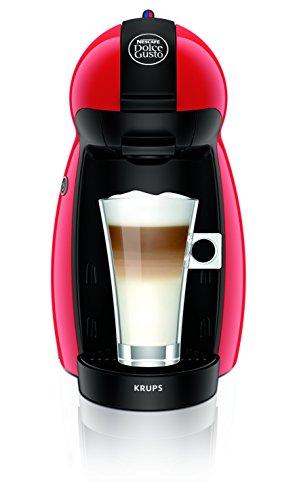 Krups Dolce Gusto Piccolo - Cafetera, 1500 W, color rojo
