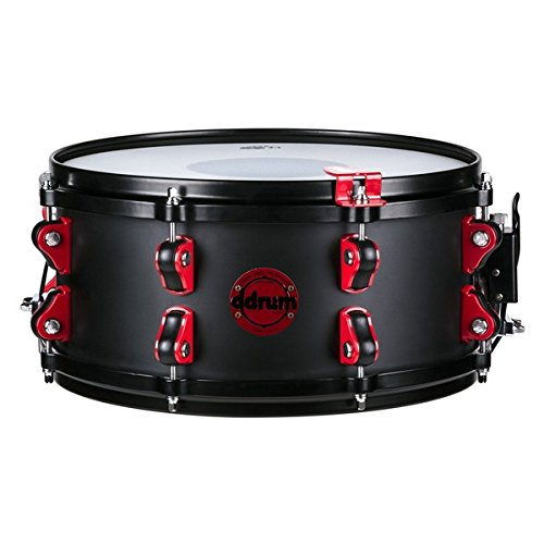 Ddrum Hybrid Snare Drum with Trigger 13 x 6 in. Satin Black by Ddrum (Image #4)