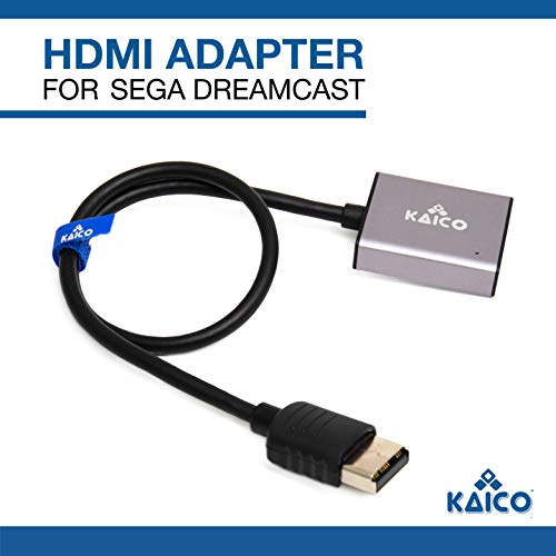 HDMI Adapter Lead for Sega Dreamcast - Simple Plug & Play Solution for Connecting a Dreamcast to a Modern TV