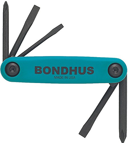 Bondhus 12547 GorillaGrip« Utility Fold-up Set, 1 Phillips,