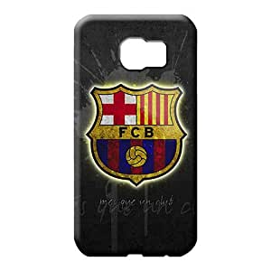 samsung galaxy s6 edge Excellent High-end Protective Cases mobile phone carrying covers fc barcelona