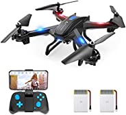SNAPTAIN WiFi FPV Drone with 720P HD Camera, Voice Control Live Video RC Quadcopter with Altitude Hold, Gravit