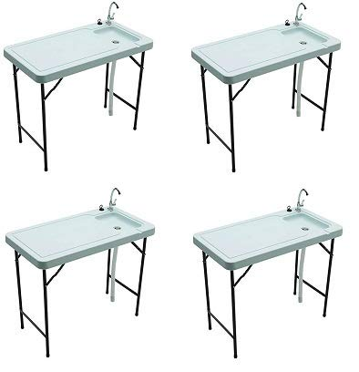 Amazon Com Tricam Outdoor Fish And Game Cleaning Table With