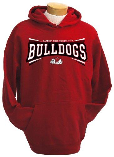 NCAA Gardner-Webb Bulldogs Men's Condor Hooded Sweatshirt (Red, X-Large)