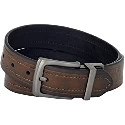 Levi's Men's Levi's 1 9/16 in. Reversible Belt (Regular and Big & Tall Sizes),Brown/Black,32
