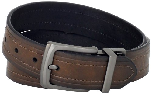 Levi's Men's Levi's 1 9/16 in. Reversible Belt (Regular and Big & Tall Sizes),Brown/Black,34