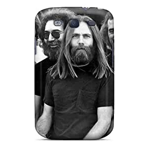 Shockproof Hard Phone Cover For Samsung Galaxy S3 With Provide Private Custom Beautiful Grateful Dead Band Pattern EricHowe