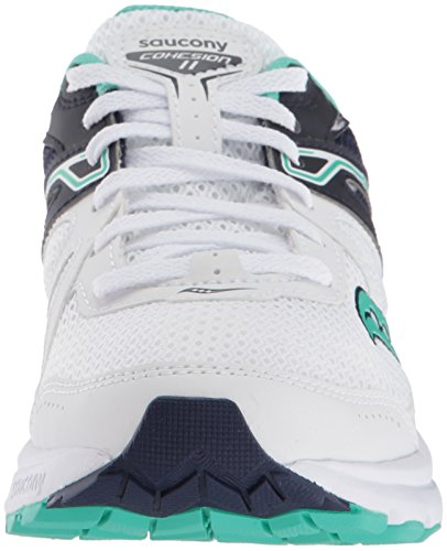 De 11 teal White Cohesion Femme Saucony Chaussures Fitness A7tpqnw