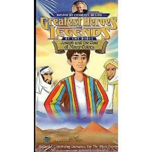 Amazon.com: Joseph and the Coat of Many Colors [VHS ...