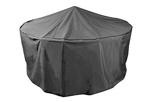 Bosmere D523 STORM BLACK 6-8 Seat Circular Patio Set Cover