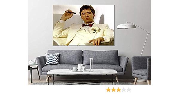 Scarface Tony Montana The World is Yours Al Pacino XL Wall Decor//Home Decoration
