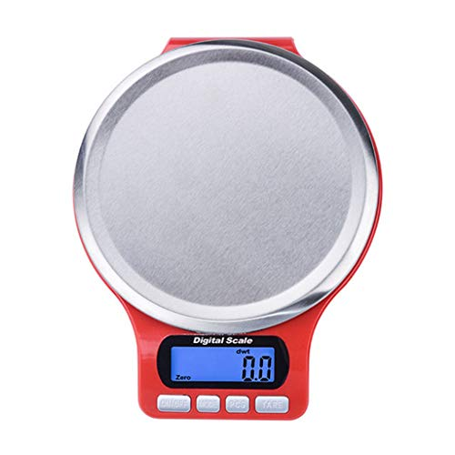 Coersd Digital Scale Kitchen Measure Tools Stainless Steel Electronic Weight (Best Electronic Scale Inhibitor)