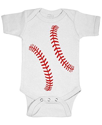 Baseball Jersey Onesie - 6