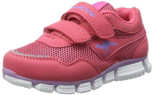 KangaROOS Lasic - Zapatillas infantil rosa - Pink (plastic pink/viola 665)