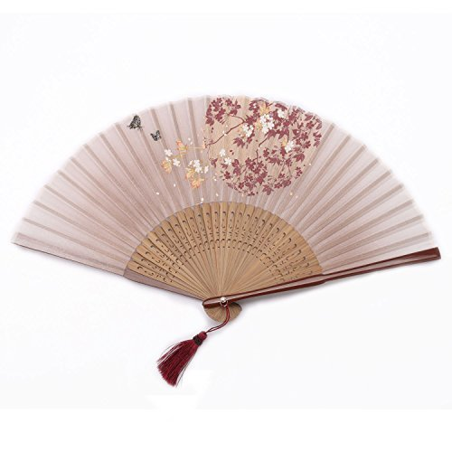 Ouly Silk fan, Chinese fan, Chinese style,fan box protection,Japan fan Multiple Colors - Chinese Spectacles