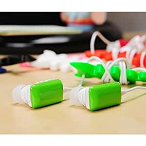Mini Wireless In-Ear Stereo Music 2-Channel Bluetooth Earphone with Microphone for iPhone 5/5S/4/4S and More - 5 Colors