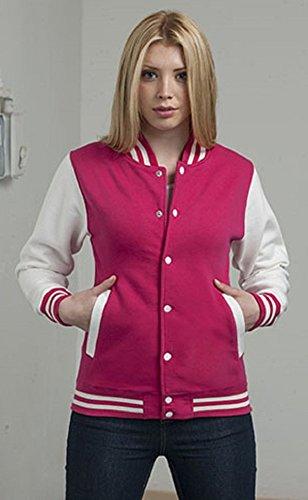 Pink white Giacca Uomo Hot burm Jh043moxn Awdis wqxT867X