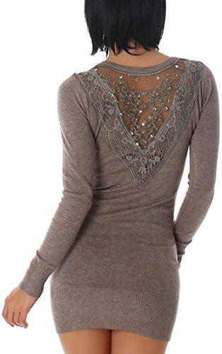 Luxestar - Vestido - para mujer Light Brown