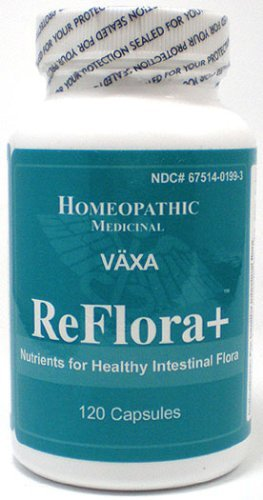 Vaxa ReFlora - Nutrients for Healthy Intestinal Flora, 60 capsules