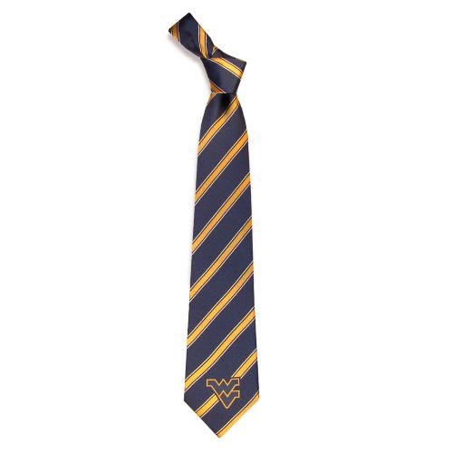 West Virginia Mountaineers Collegiate Woven Polyester - Woven Virginia Tie