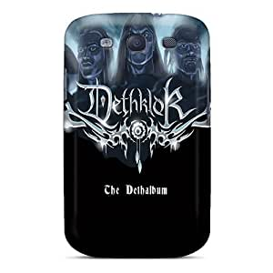 Galaxy S3 Hard Back With Bumper Silicone Gel Tpu Cases Covers Dethklok