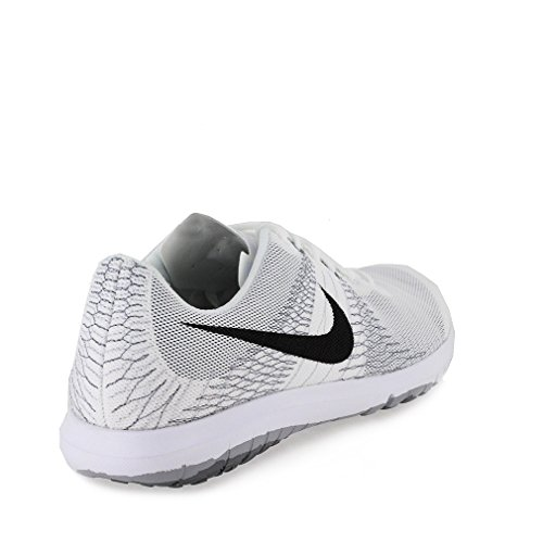 Nike Womens Flex Fury Running Shoes Wht/Blk/Wolf Grey C4B0cg2p