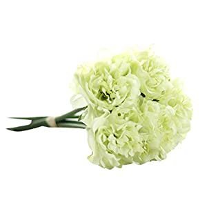 love enjoy Hot Artificial Silk Fake Flowers Peony Floral Wedding Bouquet Bridal Hydrangea Decor Natural Lifelike Beautiful,Multicolor D 12