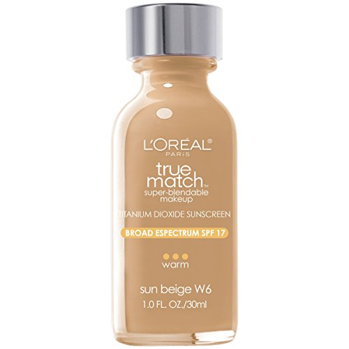 L'Oreal Paris True Match Super-Blendable Makeup, Sun Beige, 1 fl. oz.